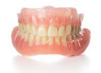 Full dentures.