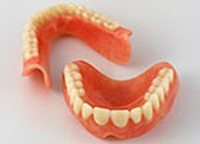 Traditional, immediate dentures.